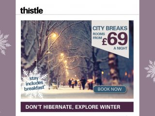 Thistle - animated email