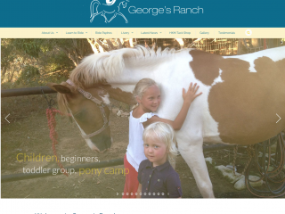 George's Ranch Website - design, build & host